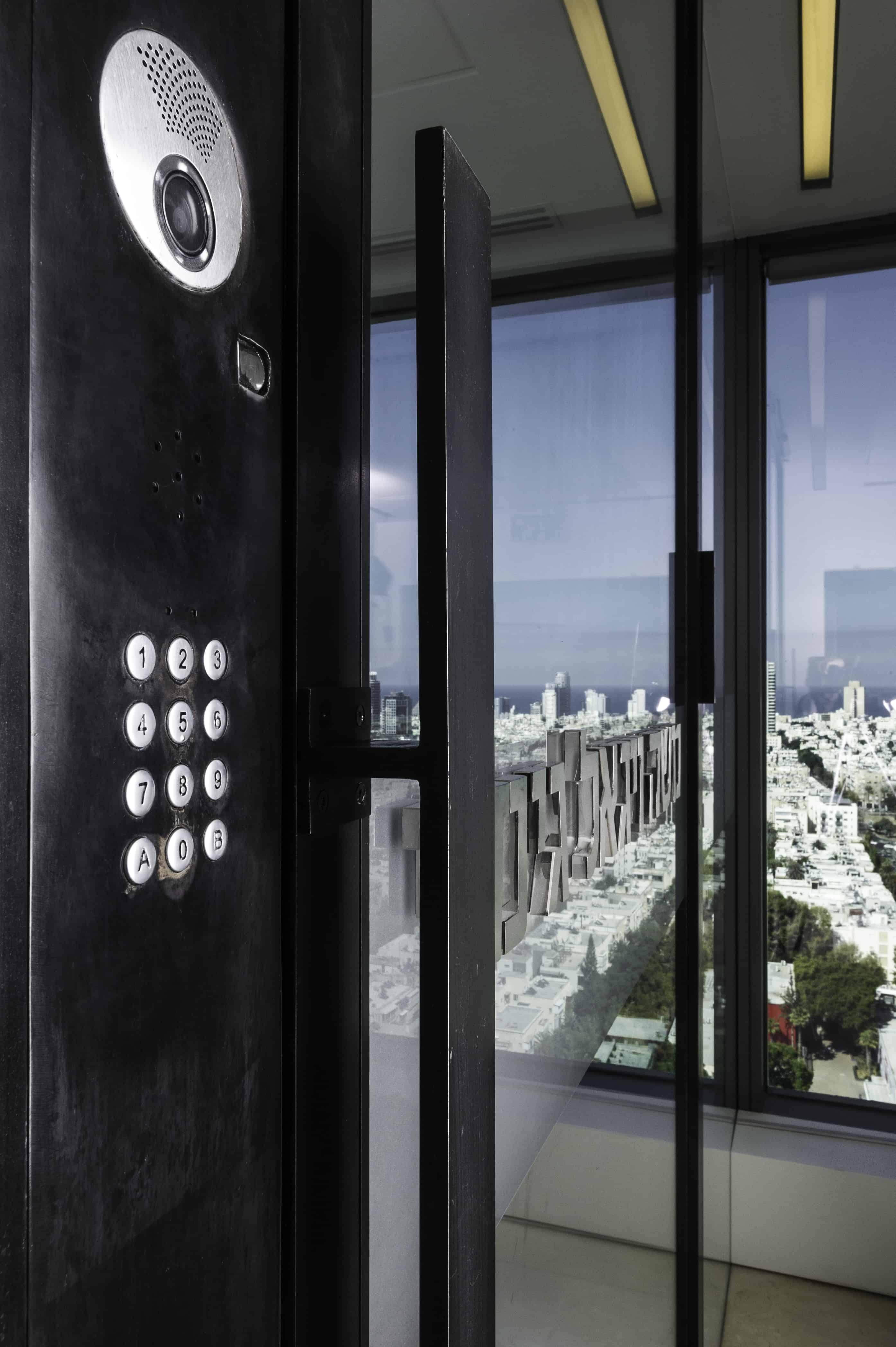 Office Entry Doors Teal Door In France Post Officeteal Doorentry